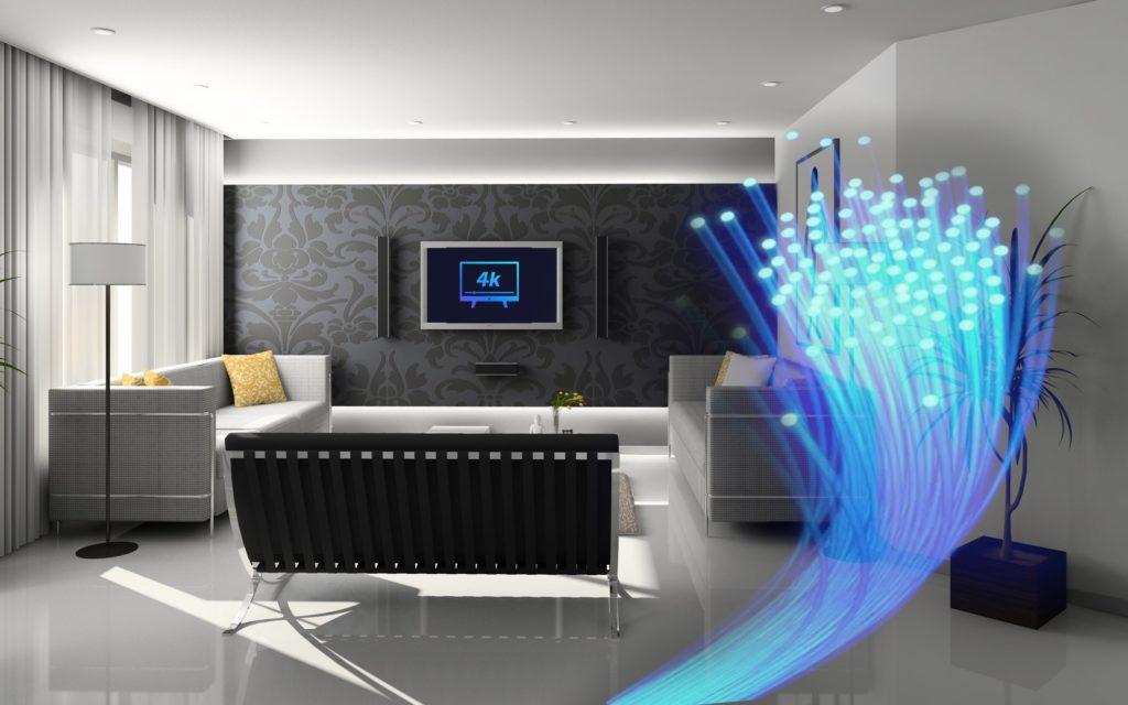 instalación de fibra optica plastica